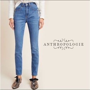 Anthro Pilcro Denim High-rise Legging Jean 31